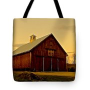 New England Barn Tote Bag