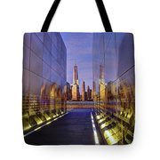 New Jersey Empty Sky 9-11 Memorial Tote Bag
