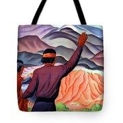 New Mexico And Arizona Rockies Tote Bag