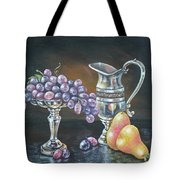 Fruit N Silver Tote Bag