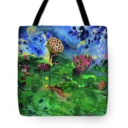 Lily Pops Tote Bag
