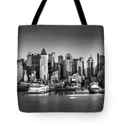 New York City Panorama Tote Bag