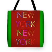 New York No 1 Tote Bag