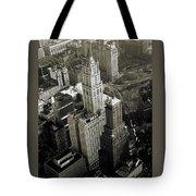 New York Woolworth Building - Vintage Photo Art Print Tote Bag