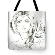 News From Outer Space Tote Bag