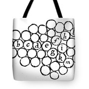 Newtons Principia, Laws Of Motion, 1687 Tote Bag