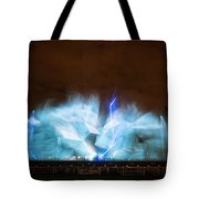 Niagara Falls Water Show Tote Bag