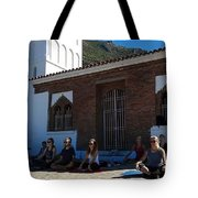 Nice View From Chefchaouen Morocco Tote Bag