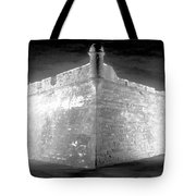 Night At The Castillo Tote Bag by David Lee Thompson