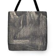 Night In The Yosemite Tote Bag