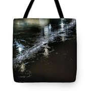 Night Stream Tote Bag