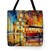 Night Trolley Tote Bag