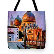 Night Venice Tote Bag