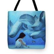 Ninia Del Mar Tote Bag