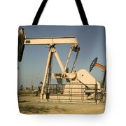 Nodding Donkey Oil Pumps Tote Bag