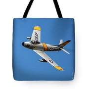 North American F-86 Sabre Tote Bag
