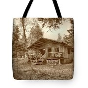 North Maine Cabin Tote Bag