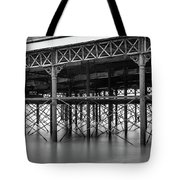 North Pier Blackpool Tote Bag