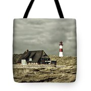 North Sea Lighthouse - Germany Tote Bag