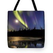 Northern Lights Thingvellir Tote Bag