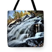 Northern Michigan Up Waterfalls Bond Falls Tote Bag