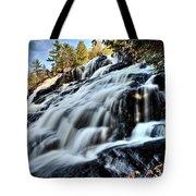 Northern Michigan Up Waterfalls Bond Falls Tote Bag