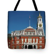 Norwich City Hall Tote Bag