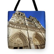 Notre Dame Paris Tote Bag