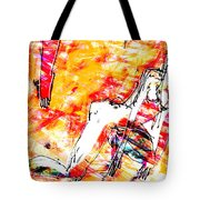 Nude, Love Tote Bag