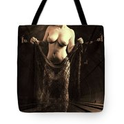 Nude Woman Model 1722  027.1722 Tote Bag