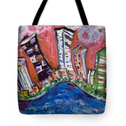 Nyc Impressions 3 Tote Bag