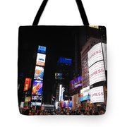Nyc Times Square Tote Bag