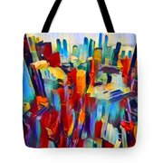 Nyc View Tote Bag