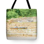 Nympheum Water Fountain To Herdoes Atticus In Olympia Greece  Tote Bag