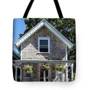 Oak Bluffs Cottage Tote Bag