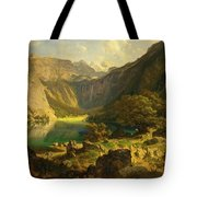 Obersee. Bavarian Alps Tote Bag