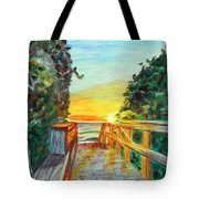 ocean / Beach crossover Tote Bag