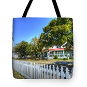 Ocracoke Lighthouse, Ocracoke Island, Nc Tote Bag
