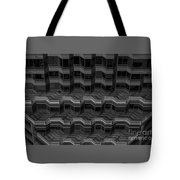 Office Building Abstract Tote Bag