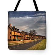 Officer's Row At Sandy Hook  Tote Bag