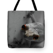 Ogling Amphibian Tote Bag