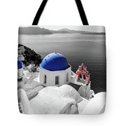 Oia, Santorini / Greece Tote Bag