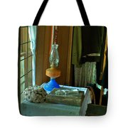 Oil Lamp And Bible Tote Bag