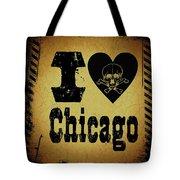 Old Chicago Tote Bag