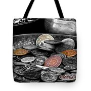 Old Coins Tote Bag