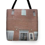 Old Dance Hall Tote Bag