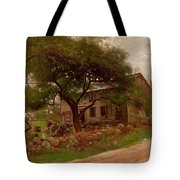 Old Farm House In The Catskills Tote Bag