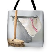 Old Fashioned Housekeeping With Zinc Bucket Tote Bag