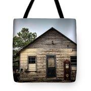 Old Filling Station Tote Bag
