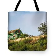 Old Fisherman's House On The Hill Tote Bag